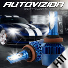AUTOVIZION LED HID Headlight kit H11 6000K for 2007-2010 Honda Element