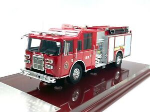 1:43 OSHKOSH Fire truck model Resin meterial Limited Edition