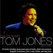 TOM JONES   Love Me Tonight  ( 24 Great Tracks )  VGC