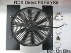 "Rdx 14"" Direct Fit Electric Cooling Radiator Fan Kit Landrover Defender 200 Tdi"