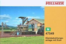 Vollmer 47549  ( 7549 ) N - Kleinbekohlung mit Kran NEU & OvP