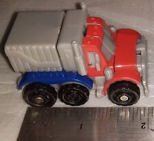 Hasbro Mini Transformers Tomy  2011 lory blue  and red 2 inches RARE