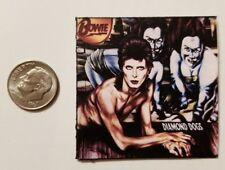 Miniature record album Barbie 1/6  Figure Playscale David Bowie Diamond Dogs