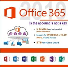 ✅🔥 Microsoft Office 365 2019 Pro Plus ✅🔥Account ✅🔥With 5 Devices And 5TB ✅🔥