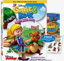 Disney Goldie and Bear Best Fairytale Friends Classic Fairy Tale Characters DVD