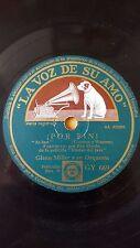 FILM 78 rpm RECORD VsA GLENN MILLER Orquesta VIUDAS DEL JAZZ ¡Por fin! /...