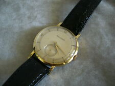 Selten schöne Jaeger Le Coultre 18K Gold Dress Watch ca.1955 Vintage Classic Top