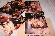LA MORT VOUS VA SI BIEN ! zemeckis jeu 12 photos cinema lobby cards fantastique