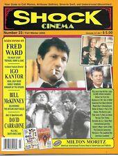 SHOCK CINEMA Magazine #23 Fred Ward (Tremors), David Carradine (Kill Bill)