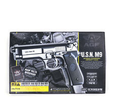 ACADEMY M9 Airsoft Pistol BB Gun 6mm /Spring,Hop Up System, ABS