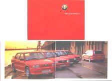 Alfa Romeo 33 1.5 1.7 Cloverleaf Veloce 1987-1989 Original UK Sales Brochure