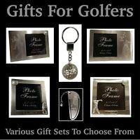 Quality Golf Ball Keyring / Locket - Great Mens / Ladies / Golfers Gifts