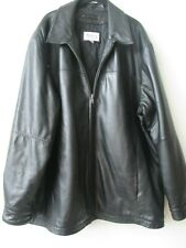 WILSONS LEATHER BLACK VERY SOFT LEATHER LONG SLEEVE JACKET SIZE XL