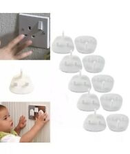 20x Plug Socket Covers Babies Children's Safety Protector for UK 3 Pin Socket UK