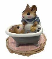 "Wee Forest Folk: ""Mom Squeeky Clean""  Bath, Tub, Collectibles, M-60"