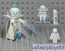 LEGO Series 16 - Ice Queen 71013 Minifigure Woman Icicle Crown Snow Collectible