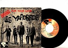 YARDBIRDS EP PS For Your Love France Riviera 231 074 M French very rare cover