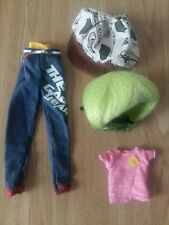 Tangkou Doll Outfit with a Wig - 4 items