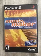 MAGIX music maker (Sony PlayStation 2, 2003) Complete With Manual, Tested