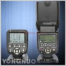 Yongnuo YN560-TX Wireless Flash Controller + Flash Speedlite YN-560III for Canon