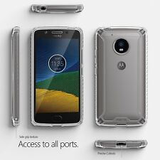 For Motorola Moto G5 Rugged Case POETIC Affinity Series Shockproof Cover Clear