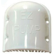 "Marine Fishing Boat White EZ Pump Medium Livewell Inlet Pickup Screen 3.375"" L"