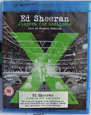 ED SHEERAN Blu-Ray X Wembley LIVE 15 Trk Jumpers For Goal Posts 2 Hrs 12 SEALED