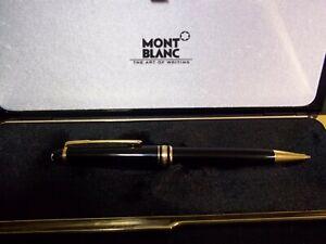 Portamine, pencil, matita Montblanc 0.7 usata con scatola