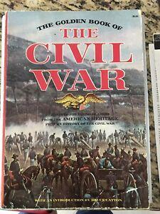 The Golden Book of The Civil War 1976Ed Golden Press