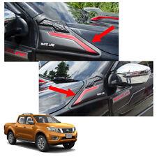For Nissan NP300 Navara 14 2015 2017 Side Vent Fender Cover Trim Matte Black Red