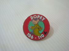 Pin's pins badge Disney Blanche Neige Simplet - Snow White Dopey 106 - 110