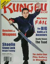 Kung Fu Tai Chi Sept Oct 2016 Benches As Weapons Tiger Claw FREE SHIPPING sb