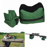 Large Shooting Range Sand Bag Set Rifle Gun Bench-Rest Stand Front & Rear Bag-US