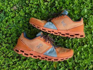 On Cloud Cloudtec Helion Orange Swiss Engineering Running Shoes Mens Size 12