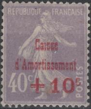 "FRANCE STAMP TIMBRE N° 249 b "" CAISSE AMORTISSEMENT VARIETE "" NEUF xx TTB K221"