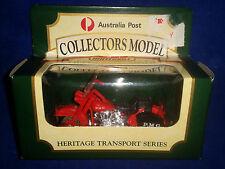 Matchbox Car Australia Post Heritage Transport Series 8 PMG Motorbike