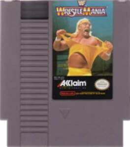 WWF Wrestlemania - NES Nintendo Game