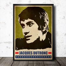 Jacques Dutronc Pop Art Poster música francesa Francoise Hardy Serge Gainsbourg