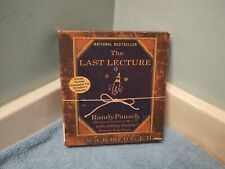 Audiobook on CD,The Last Lecture by Randy Pausch