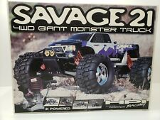 HPI SAVAGE 21 4WD MONSTER TRUCK NEW IN BOX AMAZING !!  SEE PICTURES