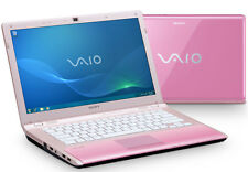 "Sony VAIO VPC-CW1S1E 14.1"" (320GB, Intel Core 2 Duo, 1.07GHz, 4GB) Notebook/Laptop - Black - VPCCW1S1E/B"