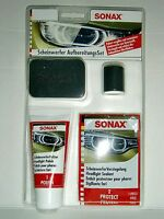 SONAX Scheinwerfer AufbereitungsSet Politur & Versiegelung - poliert versiegelt