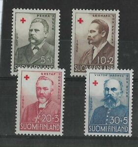 Finland 1956 Red Cross Fund Mint set