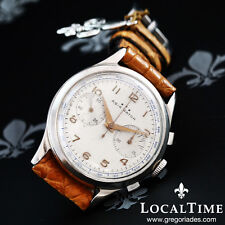 1950's AGIR Watch [ERA Watch Co. SA] Vintage Dress Chronograph Valjoux Cal. 92
