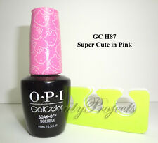 OPI GelColor Soak Off Gel Nail Polish LED/UV Pick Your Color .5oz 100% Authentic