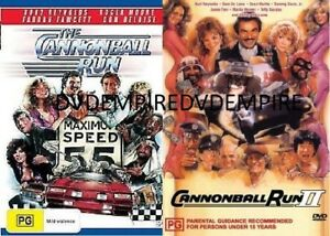 The Cannonball Run part 1&2 II DVD set New and Sealed Australian Release
