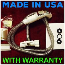 White Hand Held Diaper Sprayer /Shattaf /Bidet. MADE IN USA Fast Shipping