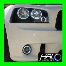 2006-2010 ORACLE DODGE CHARGER WHITE LED TRIPLE HEADLIGHT+FOG HALO RING KIT 8PC