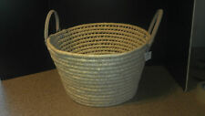 Large Woven Basket with Two Handles