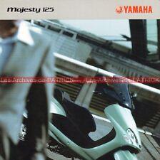 YAMAHA Majesty 125 - 2004 : Brochure - Dépliant - Moto - Scooter          #0053#